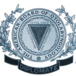 diplomate of American board of otolaryngology